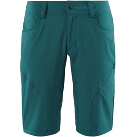 SQUARE Active Baggy Shorts Damen inkl. Innenhose petrol